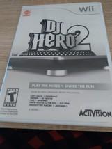 Nintendo Wii  DJ Hero 2 - COMPLETE image 1