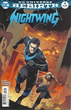 (CB-2) 2016 DC Comic Book: Nightwing #4B { Variant Cover, DC Rebirth } - $2.50