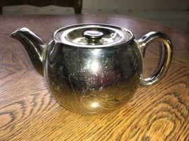 Royal Worcester Fireproof Silver Teapot Vintage China - $12.69