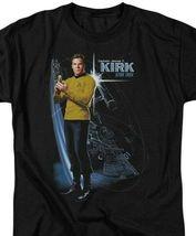 Captain James T. Kirk Star Trek USS Enterprise Retro Sci-Fi TV series CBS906 image 3