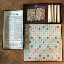 Vintage Selchow & Righter Scrabble Crossword Game Complete - 1953 - $50.00