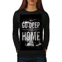 Tube Street Building City Tee Transport Women Long Sleeve T-shirt - $14.99