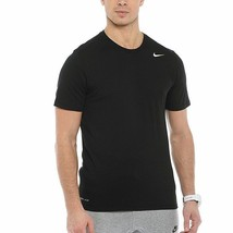 Nike Men's Dri-FIT Training Short-Sleeve T-Shirt - Black - XLT - $24.09