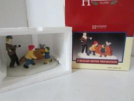 Lemax 73223 Invernale Preparazioni Figurina Matrioske Wood Hearthside Nu... - $7.79