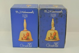 Goebel M.I. Hummel Annual Bell Lot of 2 First Edition in Bas-Relief 1978 Germany - $28.84