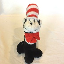 """Dr Seuss Cat In The Hat Official Movie Plush Rattle 10"""" Tall w/Hat VERY ... - $59.39"""