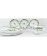 Four Crown China 32 Piece Vintage China Dinnerware Set Japan Barclay #513 - $54.62