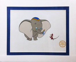 "Walt Disney ""Dumbo"" with Timothy - Limited Edition Sericel - Matted - $95.00"