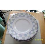 017#    Vintage Oneida Checkerboard design Saucer - $8.90