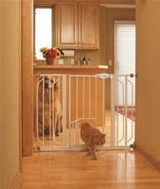Carlson Extra Wide Pet Gate with Small Door - $74.69