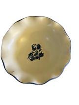 "Pfaltzgraff  Yorktowne ~ Blue /Grey ~ Scalloped Edge Bowl   ~ 7"" - $6.92"