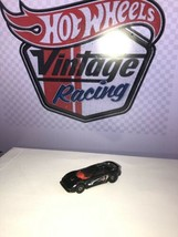 1997 Hot Wheels Callaway C7 - Black/Red - Loose Vintage Fast Shipping - $4.95