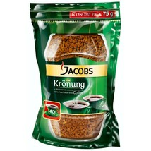 Jacobs Kronung Original Instant Coffee -75g Pouch Free Shipping - $9.36