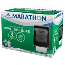 Marathon Manual Roll Towel Dispenser, 350 Ft. Capacity (Smoke) 6406001 |... - $38.99