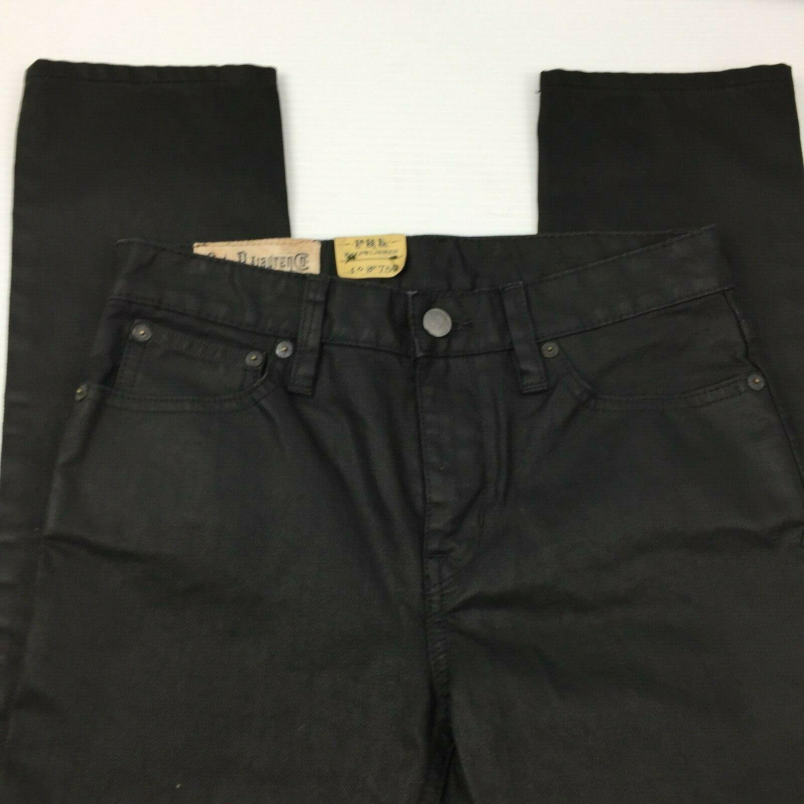 Boys POLO RALPH LAUREN Skater 750 Black Skinny Leg Jeans Size 12 **NWOT image 8