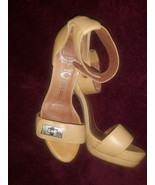 Jeffrey Campbell Women's Beige Royce Heels Sz 6.5 - $55.43