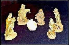 Nativity Scene AB 732 Set of 6 Piece Vintage image 3
