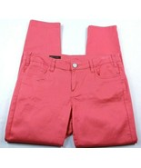 Kut From The Kloth Women's Jeans Size 8 Marilyn Ankle Skinny Coral Denim - $29.20