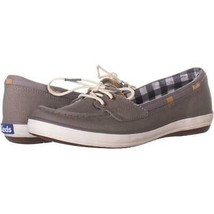 Keds Glimmer Lace Up Boat Shoes 158, Gray, 9 US / 40 EU - $24.94