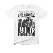 Aerosmith Bad Boys T-shirt retro 70's classic rock 80's metal 100% cotton tee image 1