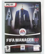 Fifa manager 07 EA sports the football league PC computer game DVD-ROM - $7.91