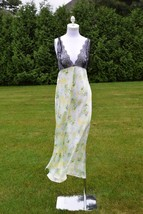 NEW Victoria's Secret Small Designer Lace Long Gown in Paradise print - $77.22