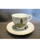 Glasgow University Teacup~Saucer Stanley Fine Bone China UK Collectible - $12.99