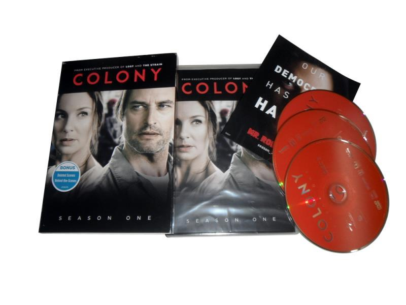 The Colony Season 1 Box Set 3 Disc Free Shipping