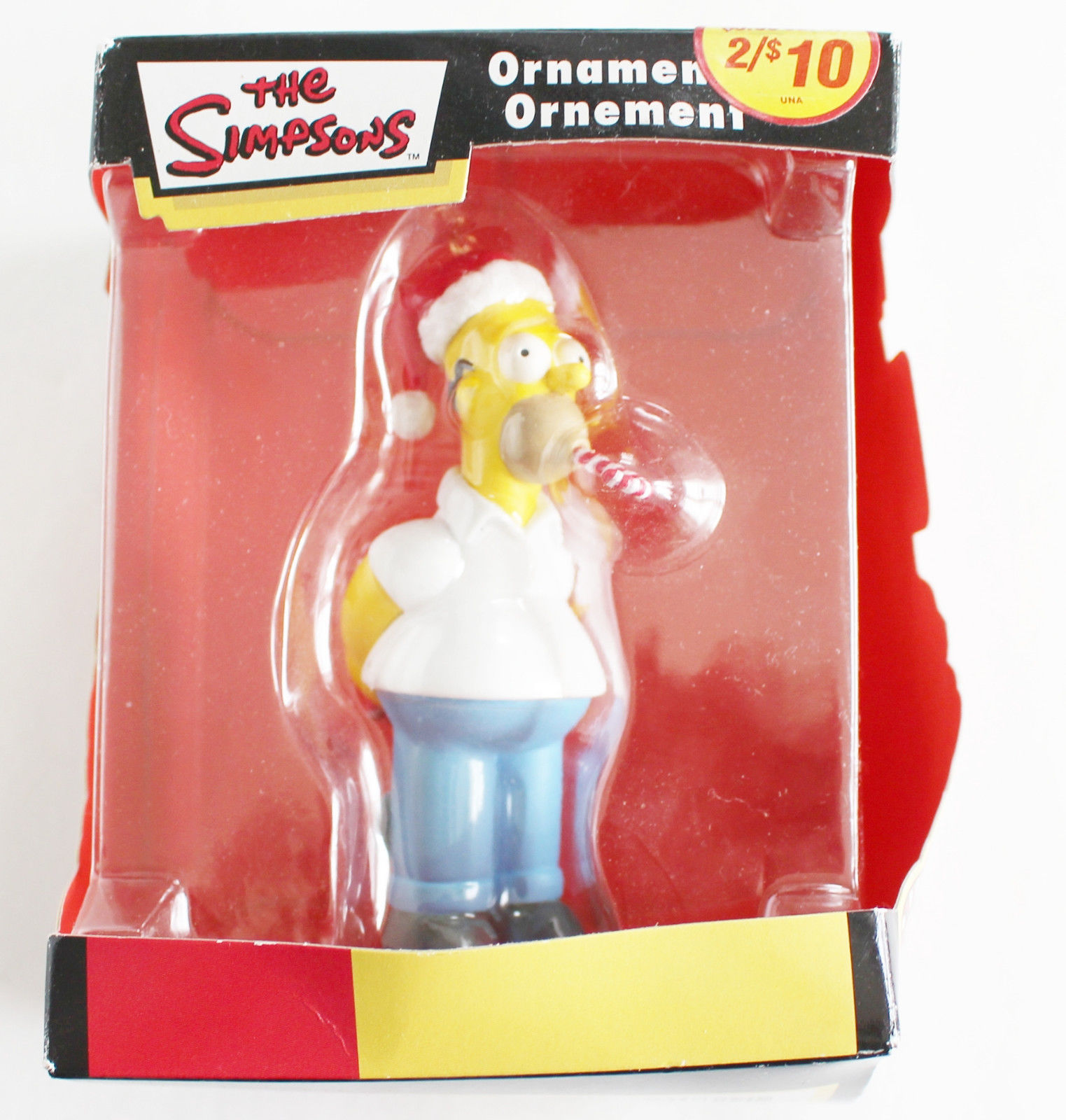 American greetings ornament 121 listings simpsons homer ornament christmas american greeting 2005 candy cane htf 1484 m4hsunfo Image collections