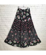 Vintage Romeo Romeo Rayon Floral Tiered Skirt Small - $38.65