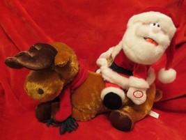 Dandee Santa Riding Reindeer Musical - $18.80