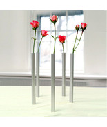 Home Gifts Original Design Vases x 5 Magnetic Set Art Flowers Decor Alum... - $75.90