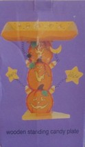 Wooden Standing Halloween Candy Plate - €21,30 EUR