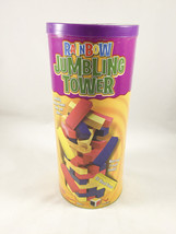 Rainbow Tumbling Tower 48 Wood Pieces 2006 - $15.83