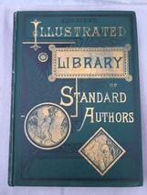 Antique Books Collier's Illustrated Library of Standard Authors Volumes ... - $53.05
