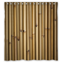 Bamboo Pattern #03 Shower Curtain Waterproof Made From Polyester - $29.07+