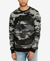 Buffalo David Bitton Men's FAOP Camouflage Appliqué Sweatshirt, MSRP $69 - $27.99
