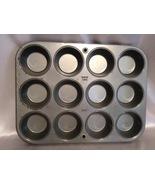 Vintage Muffin Tin Cupcake Pan Rusty Bakeware K... - $15.00
