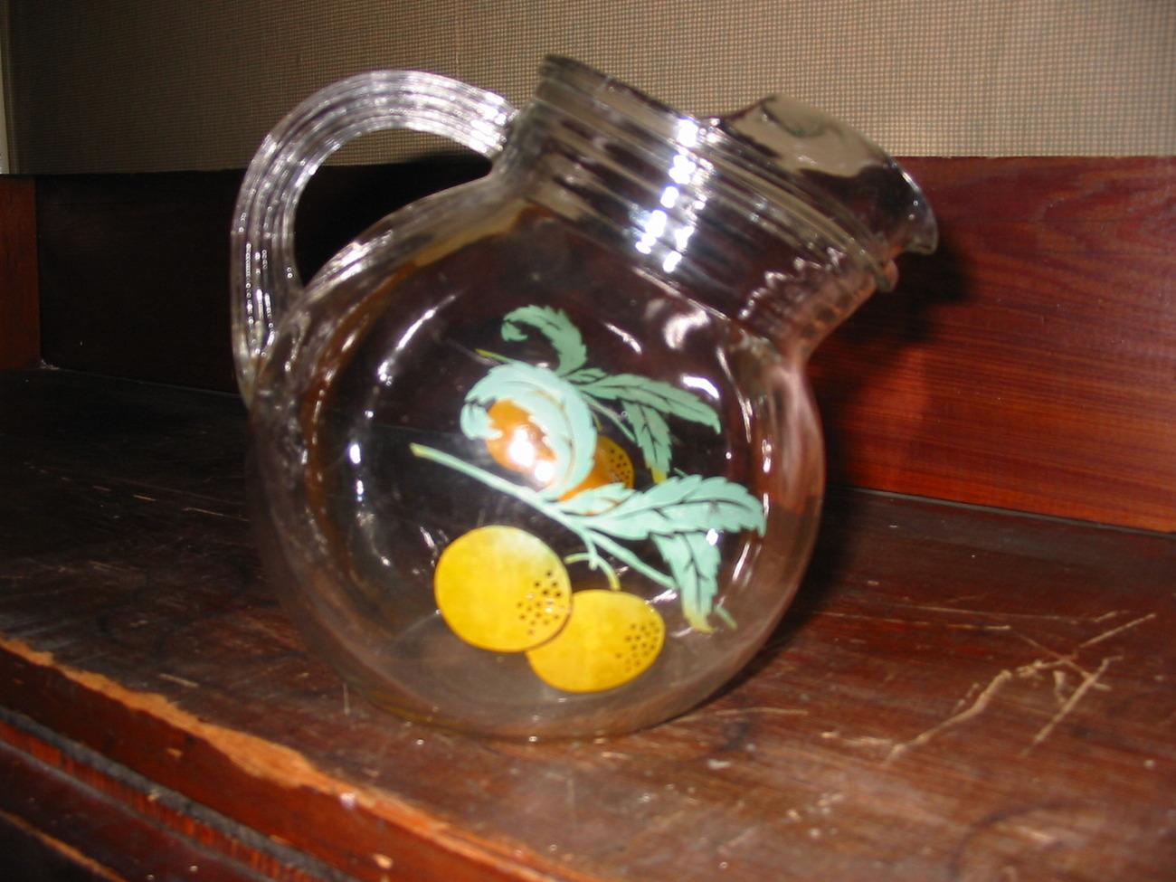 Vintage juice pitcher  1