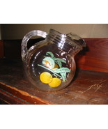 Vintage Glass Ball Tilt Juice Pitcher - $24.00
