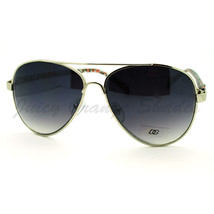 Womens Classic Aviator Sunglasses with Colorful Animal Prints - $7.15