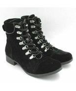 G By Guess Women Diamond Stitched Combat Boots Blush 2 Size US 8M Black ... - $17.50