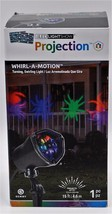 Gemmy LED Lightshow Whirl-A-Motion Projection Light Blue Green Red Purple - $23.15
