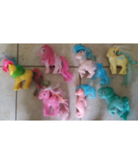Rare Vintage 1980's My Little Pony Lot + Seahor... - $99.99