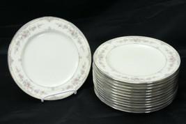 "Noritake Shenandoah Salad Plates 8.25"" Lot of 13 - $117.59"