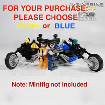 Blue or Yellow Harley Davidson X Men Wolverine Motorcycle Bike build HER... - $5.74