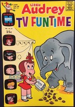 LITTLE AUDREY TV FUNTIME #26 (1970) Harvey Comics Giant Size VERY FINE - $9.89
