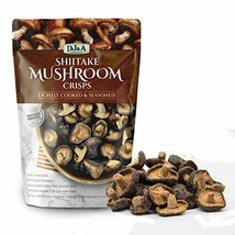 Shiitake Mushroom Crisps - Lightly Cooked and Seasoned 10.58 Ounce (Large Pack) - $18.89