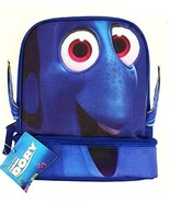 FINDING DORY NEMO DISNEY Dual-Chamber Lead-Safe Insulated Lunch Tote Box... - $16.82