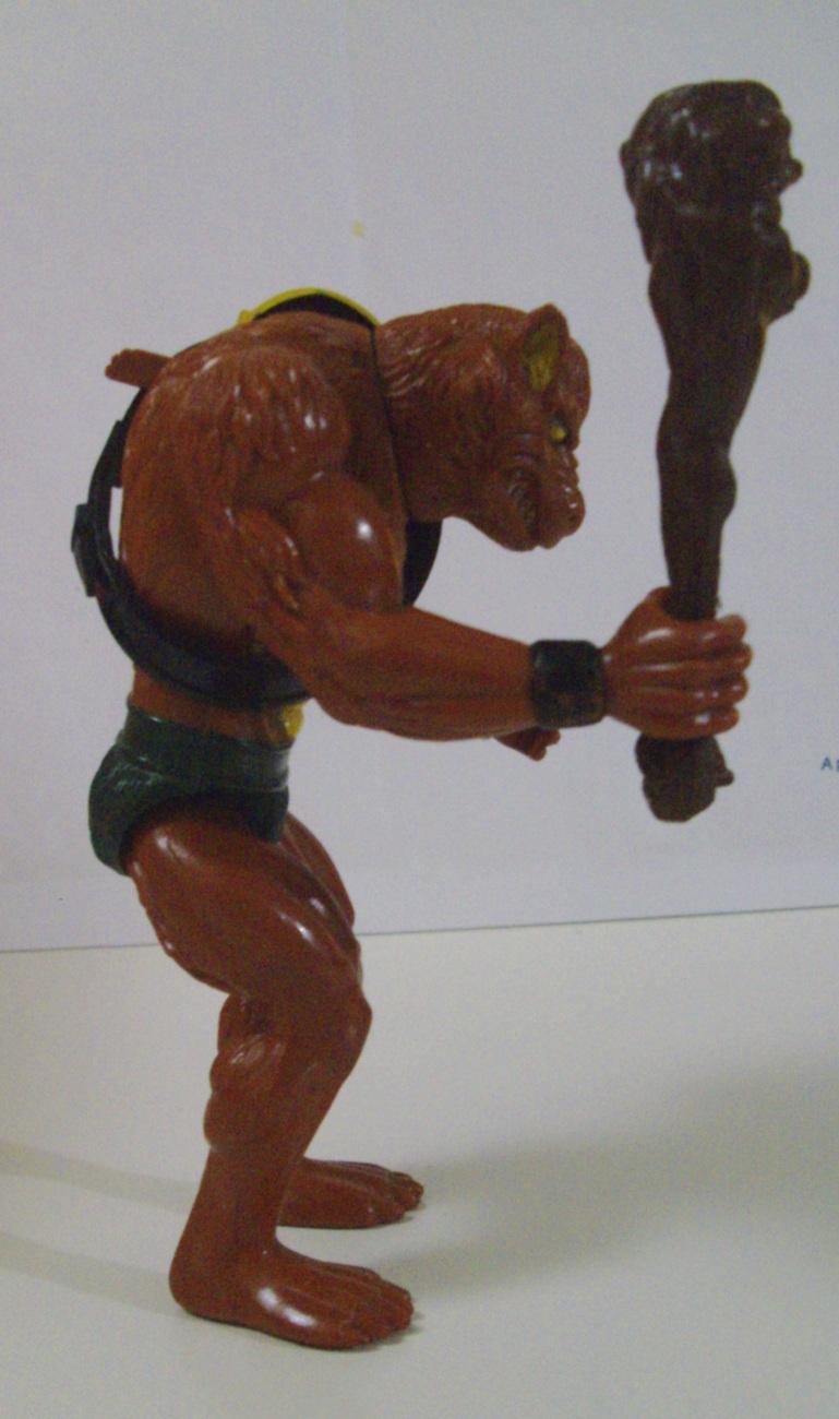 Thundercats LJN Vintage 1985 Jackalman action figure - 100% Complete